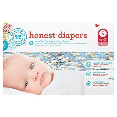 Honest Company Diapers, King of the Jungle - Newborn (40 ct)