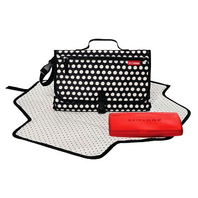 Skip Hop Pronto Baby Changing Station & Diaper Clutch Connected Dots