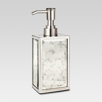 Mirror Finish Soap Pump Silver   Threshold™