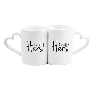 2ct Still Hers / Still Hers Wedding Coffee Mugs