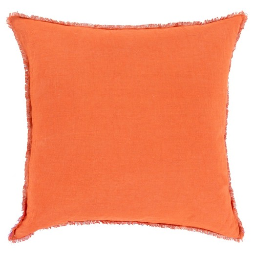 Target Clearance Throw Pillow : Solid Linen Throw Pillow - Surya : Target