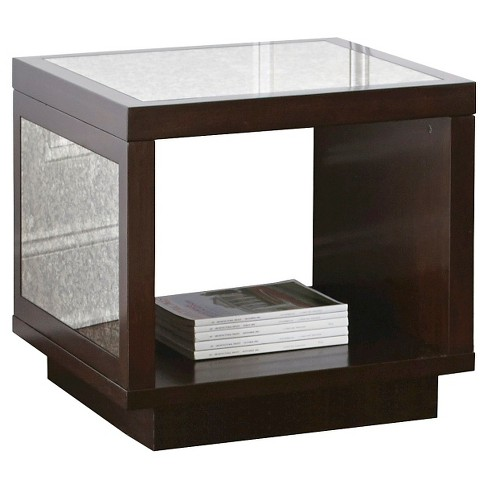 Davis End Table Brown - Steve Silver Co. - image 1 of 1