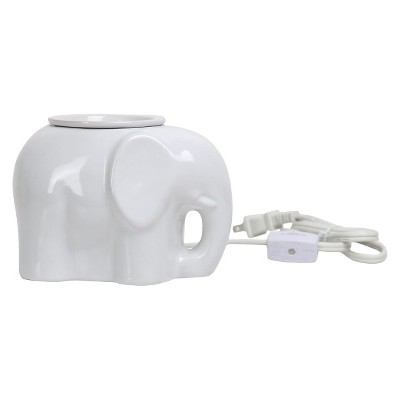 Elephant Shaped Fragrance Warmer White - Home Scents by Chesapeake Bay Candle®