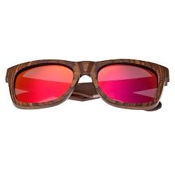 Earth Wood Panama Unisex Sunglasses with Color Lens