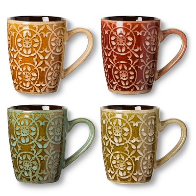 BIA Cordon Bleu Madrid Mugs Set of 4 (14 oz)