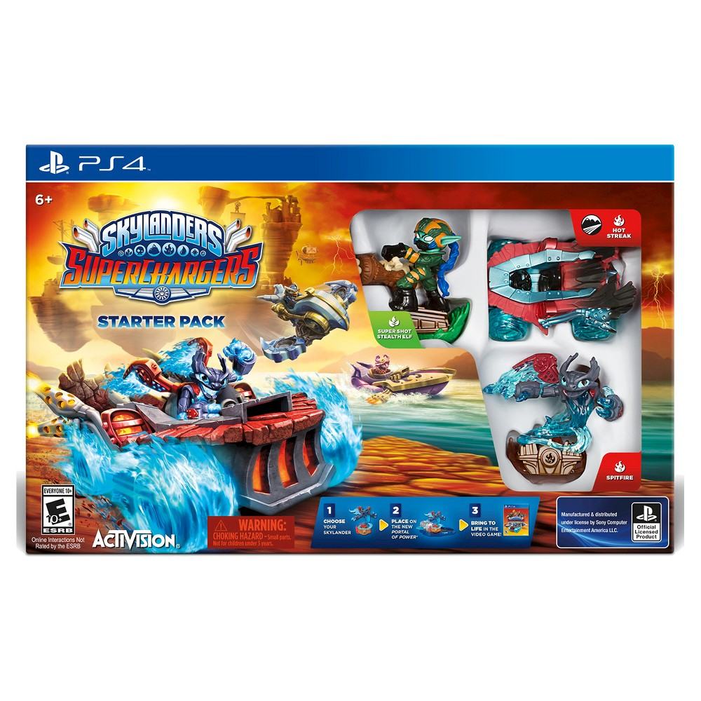 Skylanders SuperChargers Starter Pack PlayStation 4