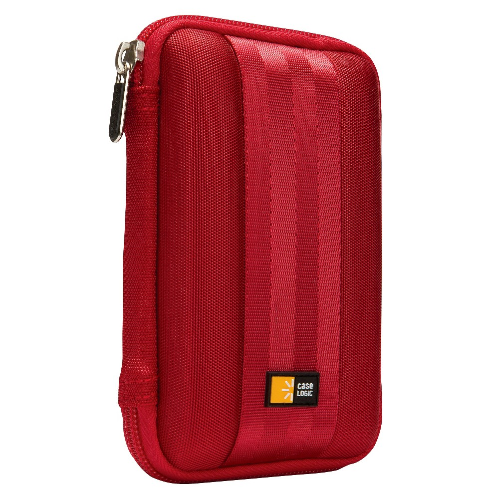 Case Logic Portable Hard Drive Case - Red (Qhdc-101)