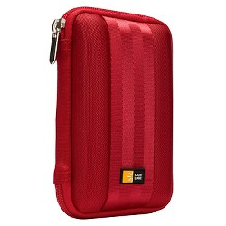 Case Logic Portable Hard Drive Case - Red (QHDC-101)