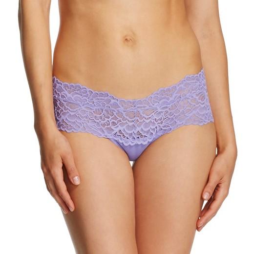 Womens Wide Lace Cheeky Xhilaration Enchanted Purple XS