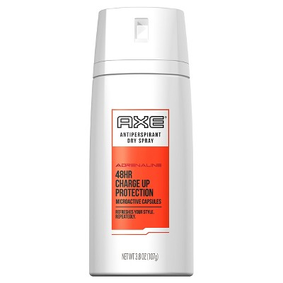 AXE Adrenaline Dry Spray Antiperspirant Deodorant 3.8 oz