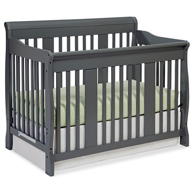 Stork Craft Tuscany 4-in-1 Convertible Crib - Gray
