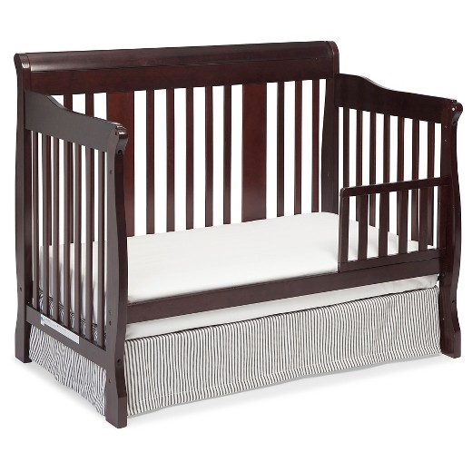 stork craft tuscany 4 in 1 convertible crib dove brown. Black Bedroom Furniture Sets. Home Design Ideas
