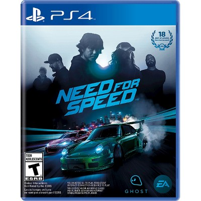 Need for Speed, Electronic Arts, PlayStation 4, 014633368611