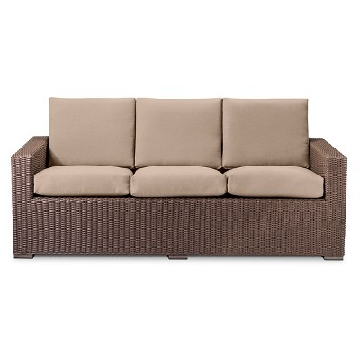 all weather wicker sofa threshold