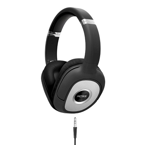 Koss Full Size Dynamic Over-Ear Headphones - Black - image 1 of 1