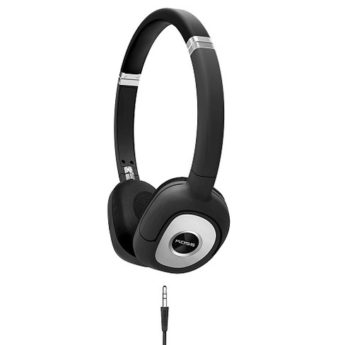 Koss SP330 Over-the-Ear Dynamic Headphones Black with Silver Accents - Black - image 1 of 1