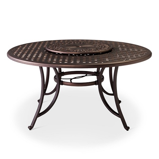 Folwell 60quot Cast Aluminum Dining Table with Lazy Susan  : 21498747wid520amphei520ampfmtpjpeg from www.target.com size 520 x 520 jpeg 33kB