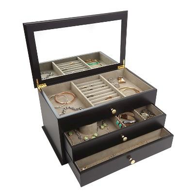 Loft By Umbra Classica Jewelry Box Espresso Target