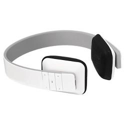 Aluratek Bluetooth Wireless Hi-Fi Stereo Headphones - White