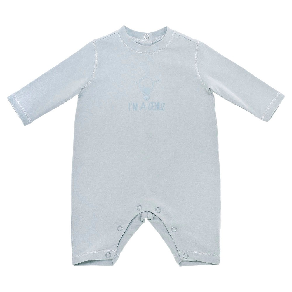 Chicco Baby Boys Long Sleeve Coverall - Blue 3-6 M