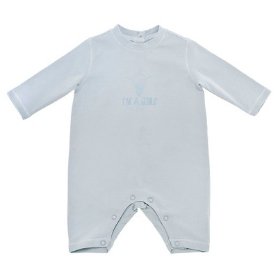 Chicco® Baby Boys' Long Sleeve Coverall - BLUE NB