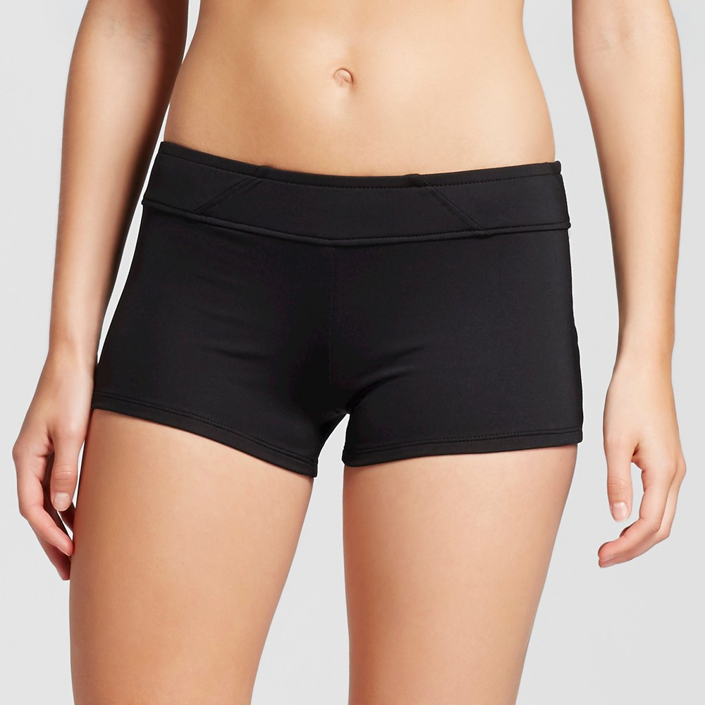 Women's Swim Shorts Bikini Bottom Black M - Mossimo