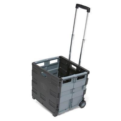 ECR4Kids Universal Rolling Storage Cart - Black