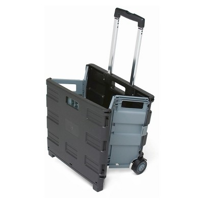 ECR4Kids Universal Rolling Storage Cart   Black