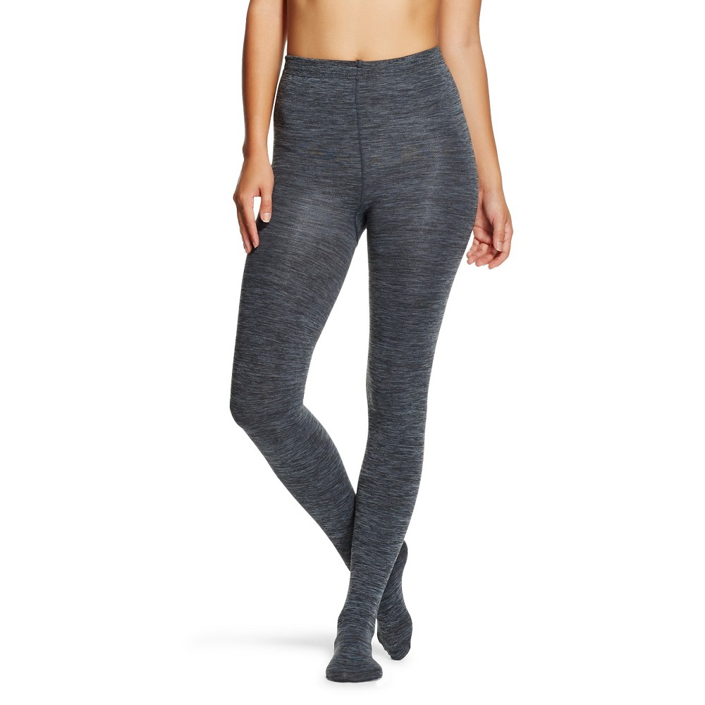 Women's Fleece Lined Tights - Xhilaration Gray S/M