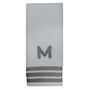 Modern Monogram Hand Towel M - Threshold