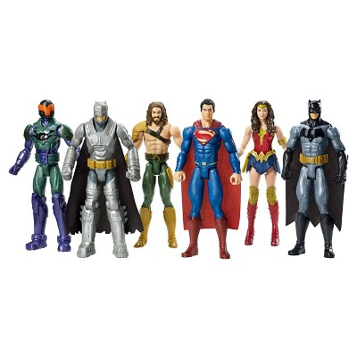 Batman V Superman Dawn Of Justice 12 Inch Figure 6 Pack