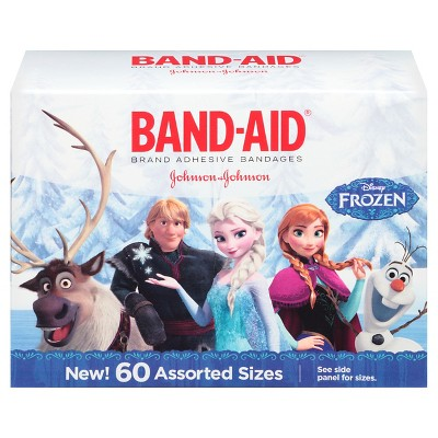 Band-Aid Frozen Bandages - 60 Count