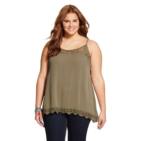Women's Plus Size Tank Tops - Mossimo Supply Co.™ - image 1 of 2