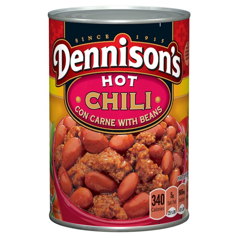 upc 064144021192 dennisons chili con carne hot with beans 15 oz. Black Bedroom Furniture Sets. Home Design Ideas
