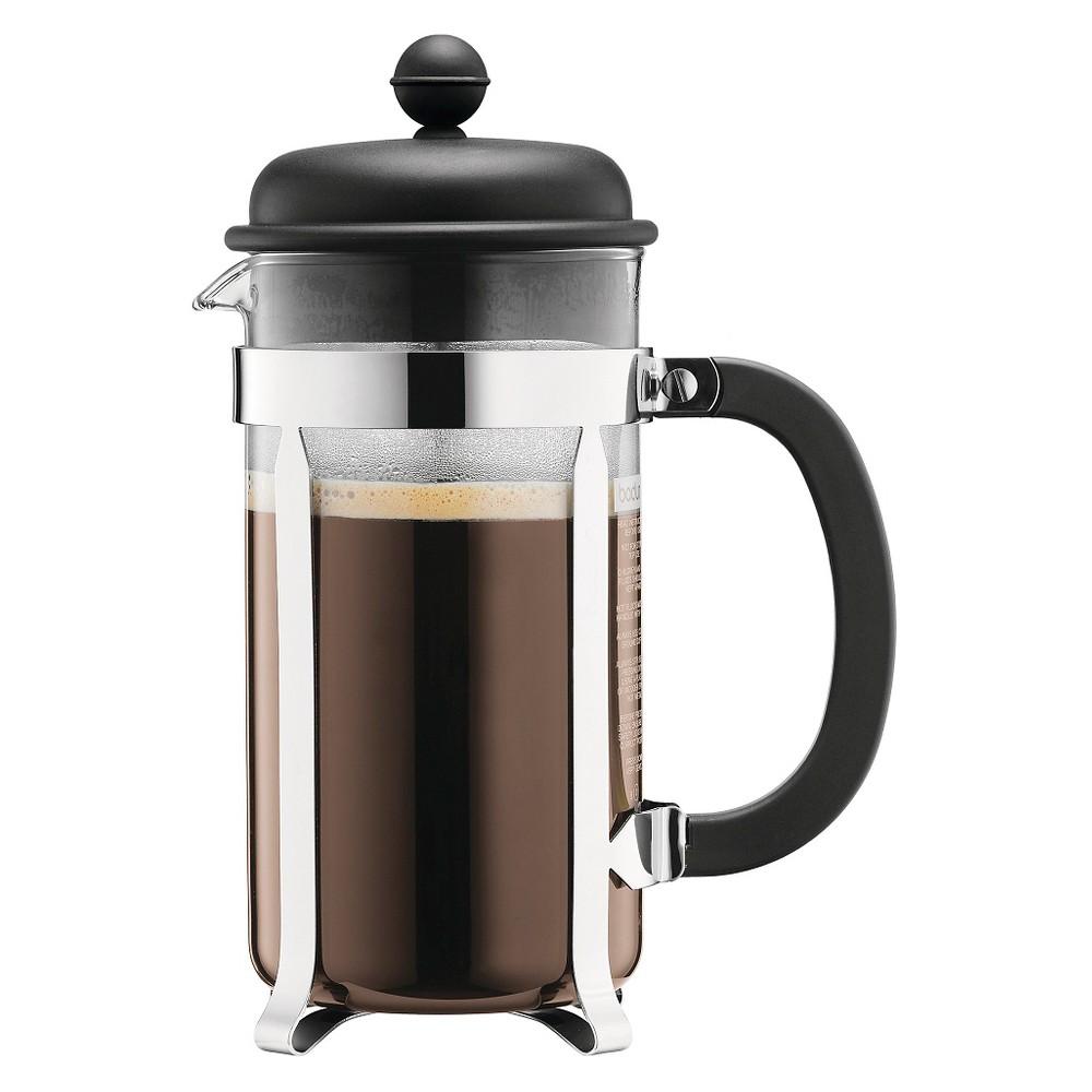 Bodum Caffettiera 8 Cup French Press - Black