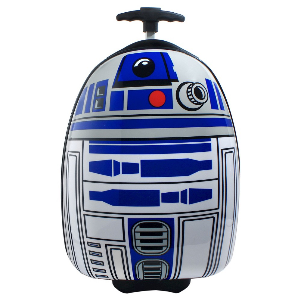Star Wars R2D2 16 Rolling Hardshell Carry On Luggage, White/Blue
