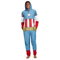 Mens Marvel Hooded Union Suit