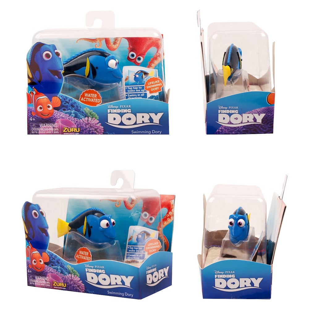 Finding Dory-Assorted Dory Robotic Fish-Marlin-Dory-Nemo. From Zuru!