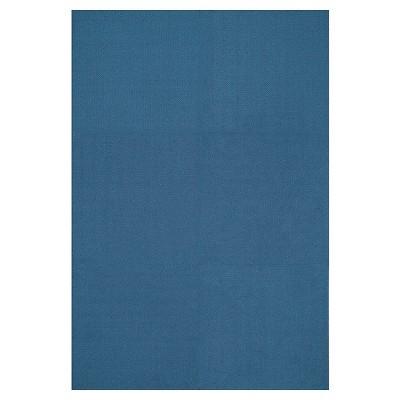 Squared Carpet Tiles Box Of 6   Lakeshore Blue (2u0027x2u0027)