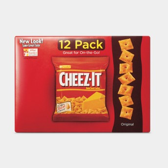 Cheez-It Baked Snack Crackers Variety Pack 12ct