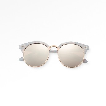 Women's Smoke Sunglasses - Wild Fable™ White