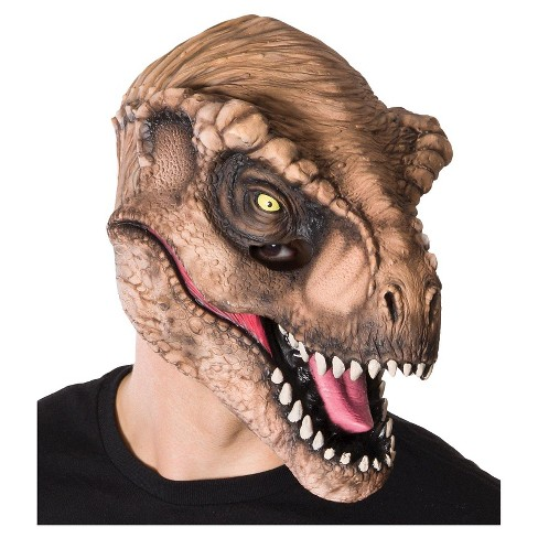 Jurassic World T-Rex Adult 3/4 Mask - image 1 of 1