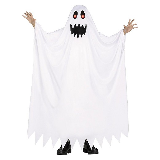 kids 39 fade in fade out ghost costume white medium 7 8 target. Black Bedroom Furniture Sets. Home Design Ideas