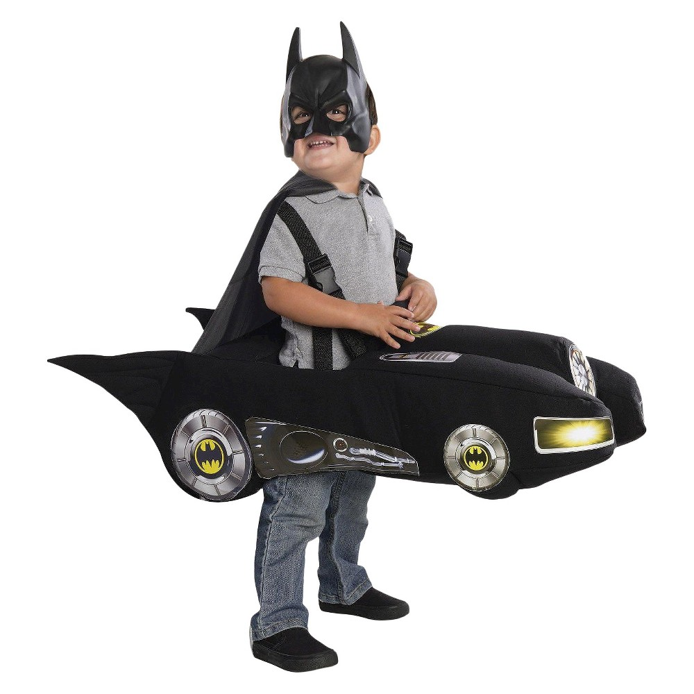 Toddler DC Comics Batman Batmobile Costume Black - 3T-4T, Toddler Boys, Size: 2T-4T