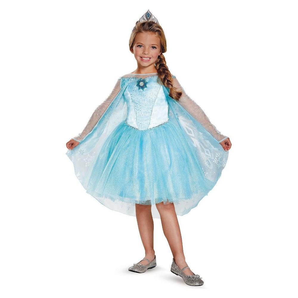 Disney Toddler Elsa Prestige Tutu Costume Blue - 3T-4T, Toddler Girls