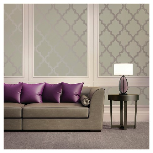 Devine Color Cable Stitch Peel & Stick Wallpaper - Mirage - image 1 of 11