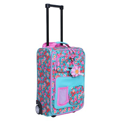 pink and green luggage : Target