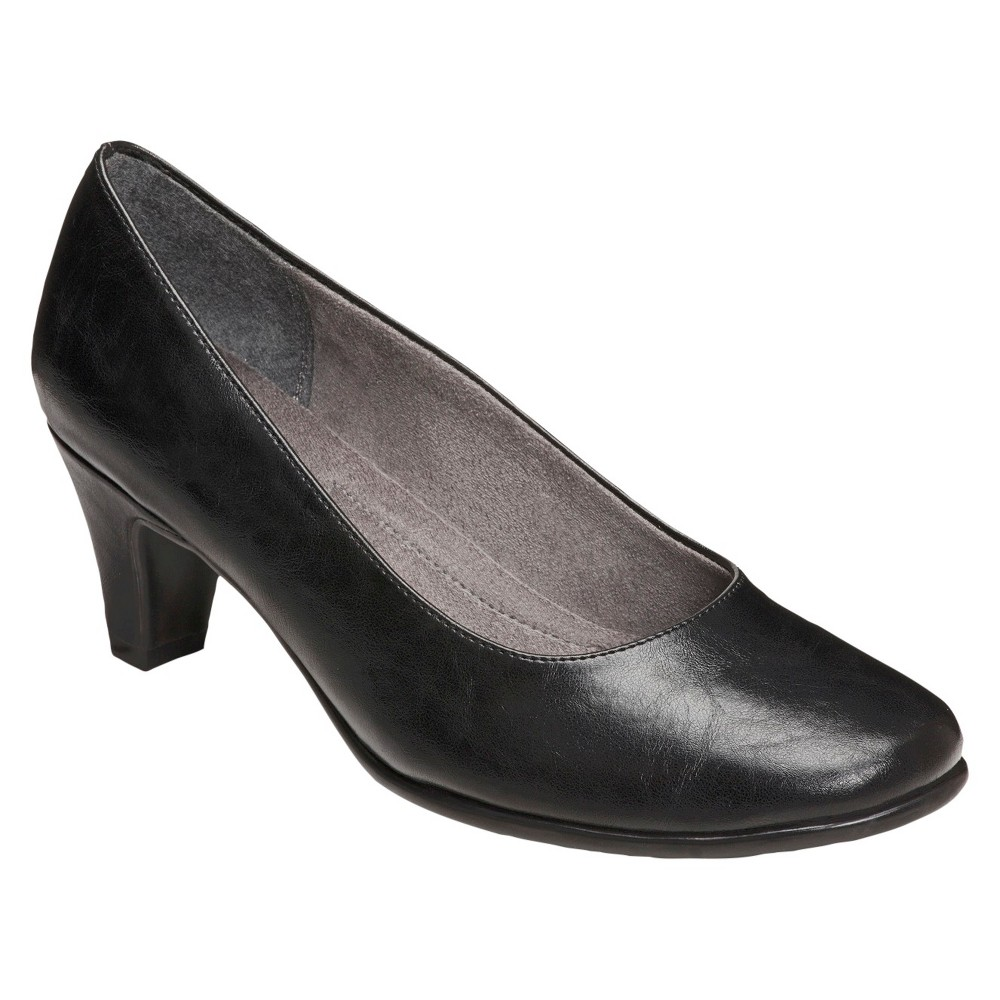 Womens A2 by Aerosoles Redwood Pumps - Black 8.5