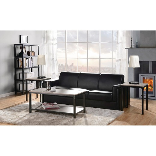 Living Room 3 Piece Table Sets 3 piece coffee table & side table set - homestar : target