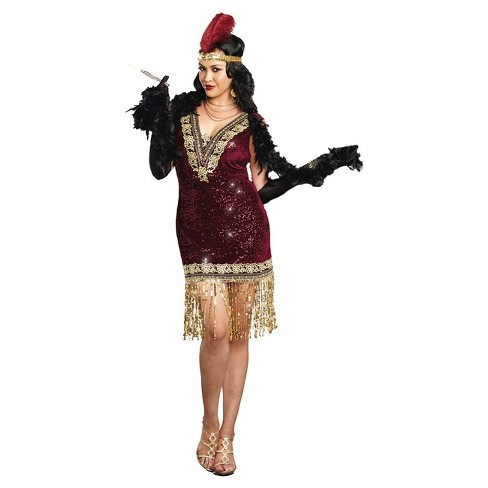 Women's Sophisticated Lady Costume Red - image 1 of 1